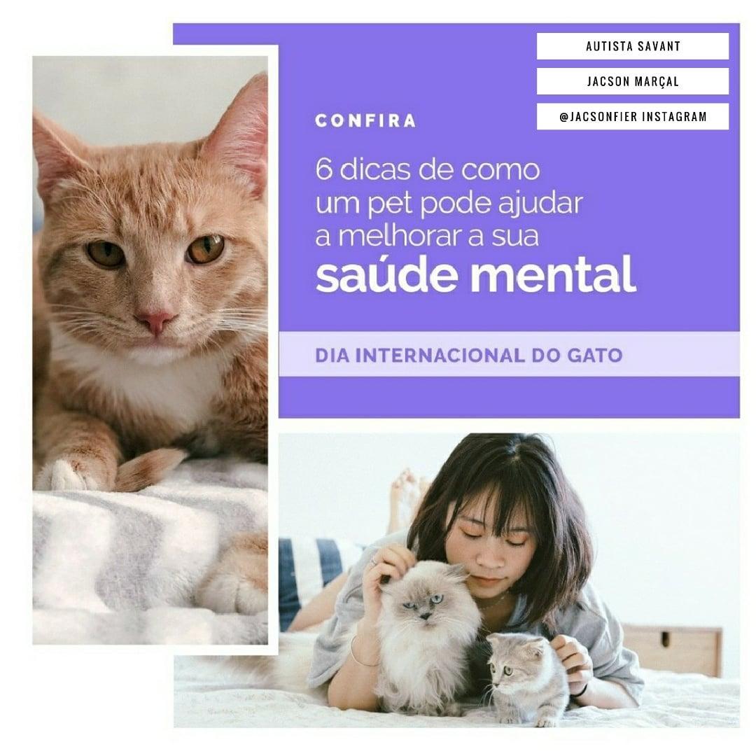 A inclusão de um Pet para melhora de sua saúde mental.