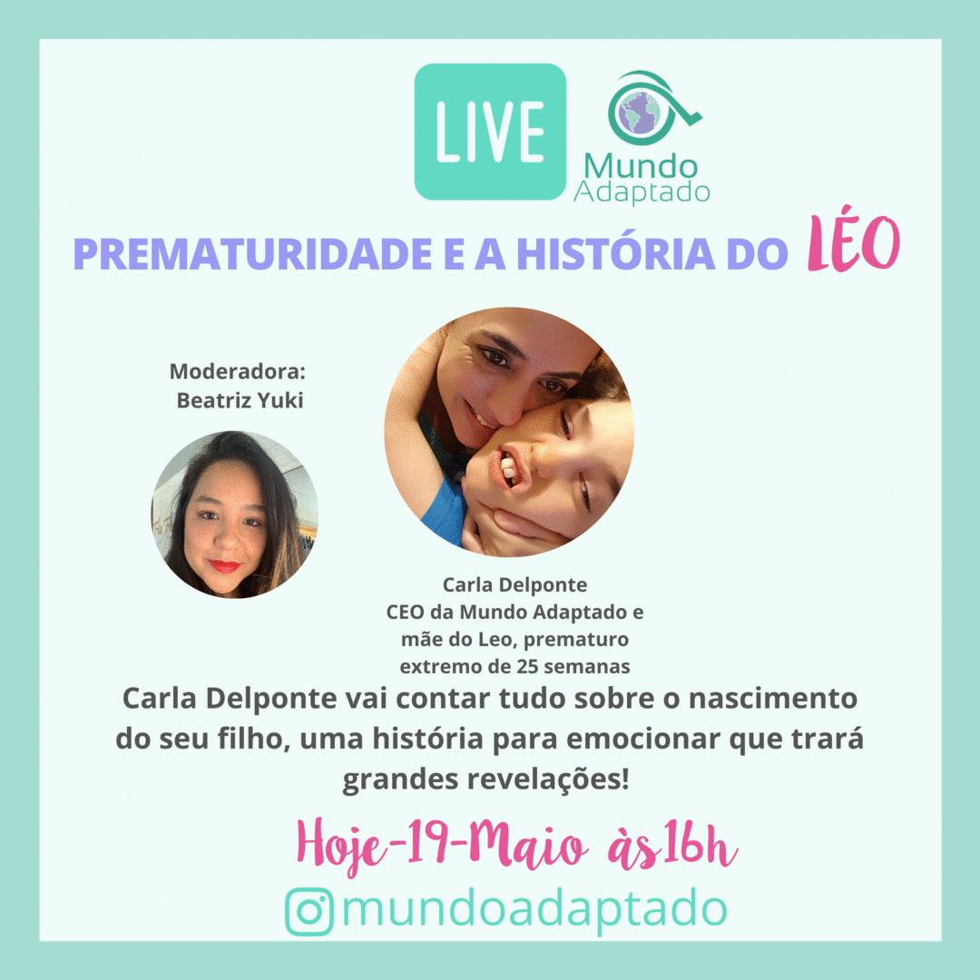 LIVE sobre Prematuridade e a história do Léo!