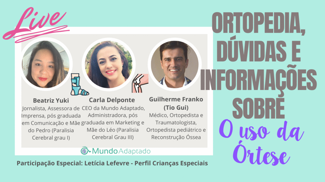 Ortopedia: Dúvidas e Informações sobre o uso das Órteses, com Dr Guilherme Franco (Tio Gui)