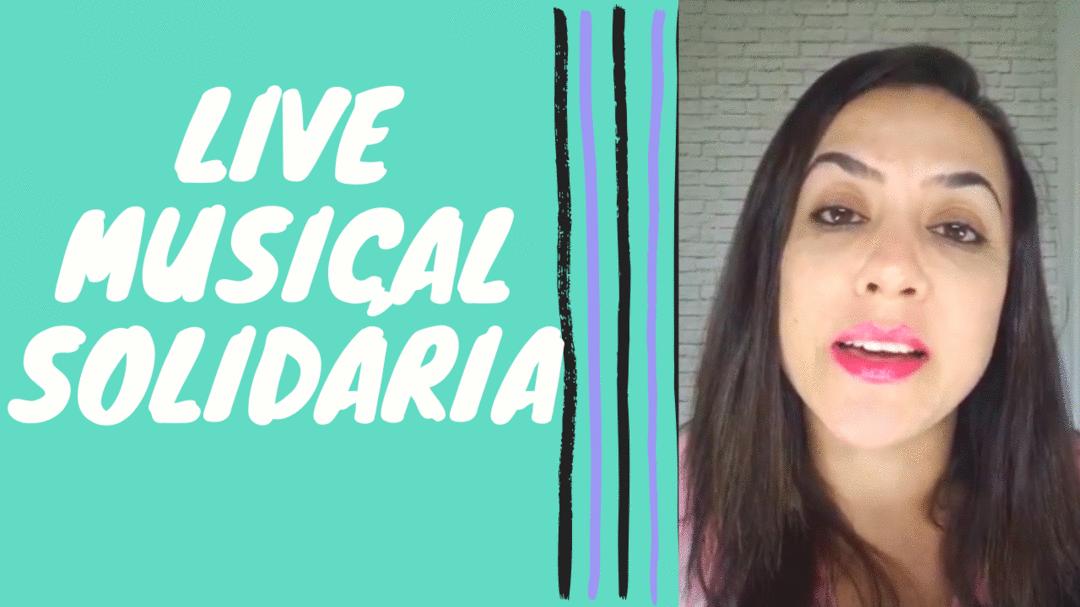 Live Musical Solidária para Famílias de PCDs