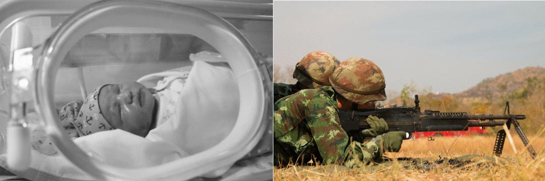 Trauma de pais de bebês em UTI é similar ao vivido em guerras.