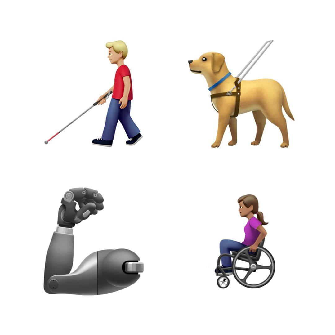 Representatividade: novos emojis inclusivos estarão disponíveis até o fim do ano