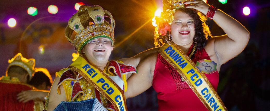 Inédito: Recife inova e elege rei e rainha da Pessoa com Deficiência