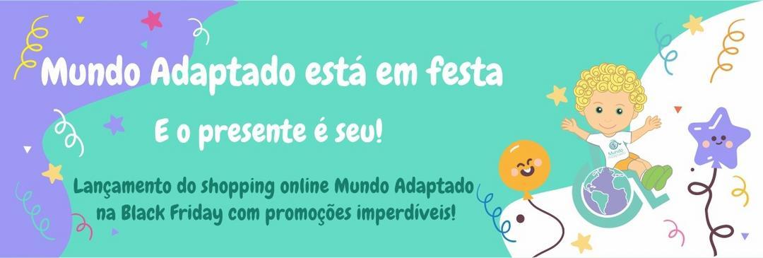 Mundo Adaptado lança Shopping on-line