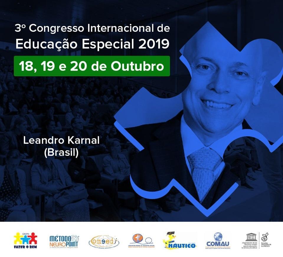 Últimos dias para comprar ingressos do 3º Congresso Internacional de Educação Especial