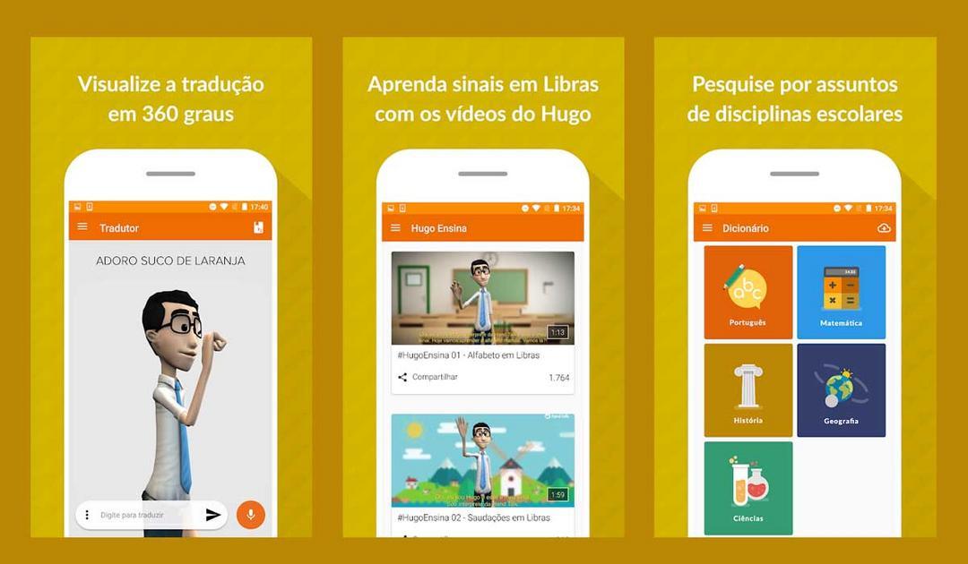 App traduz português para Libras e proporciona inclusão para milhões de brasileiros