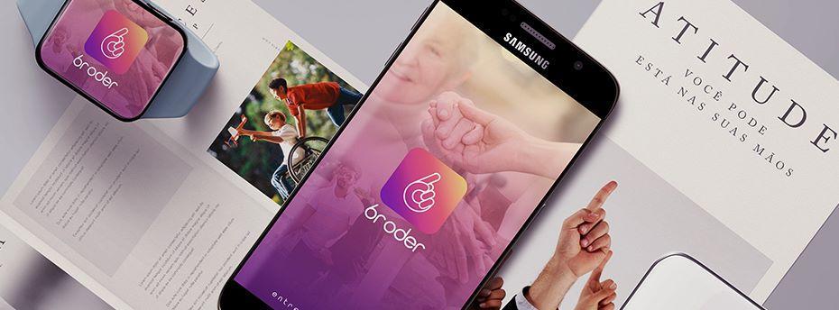 BRODER: novo aplicativo promove qualidade de vida e liberdade