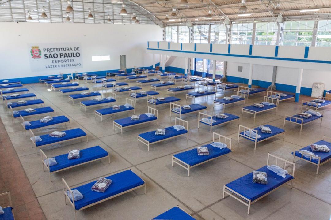 Covid-19: SP instala centro de acolhida para pessoa com deficiência e sem moradia