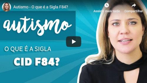 O que é a sigla CID F84?