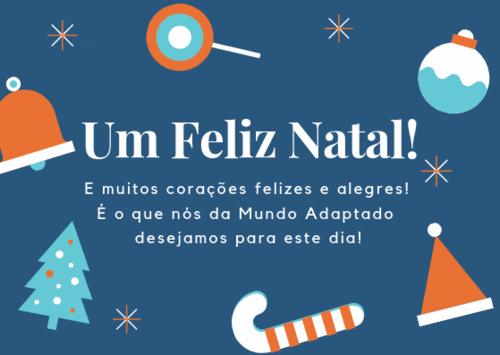 Um Feliz Natal a todos vocês!