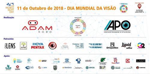 No dia Mundial da Visão, Mundo Adaptado participa de ação do Adam Robo