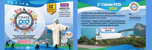 Vem aí a maior FEIRA de INCLUSÃO do Rio de Janeiro - CIDADE PCD!