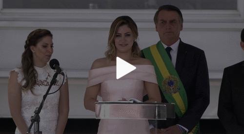 Discurso da primeira dama Michelle Bolsonaro, emociona e traz esperança às pessoas com deficiências