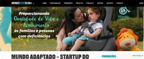 MUNDO LIVRE FM - Startup é referência em Acessibilidade