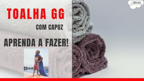 Para acabar com a dificuldade de enrolar a toalha na criança!