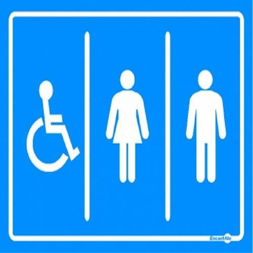 Mais da metade dos cadeirantes não encontra banheiro acessível