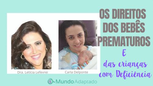 Os Direitos dos Bebês Prematuros e das Crianças com Deficiência