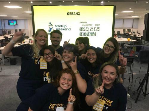 Startup Curitibana vence o Startup Weekend Woman com um projeto inteligente e que promete  fazer os pais brincarem com seus filhos com deficiência