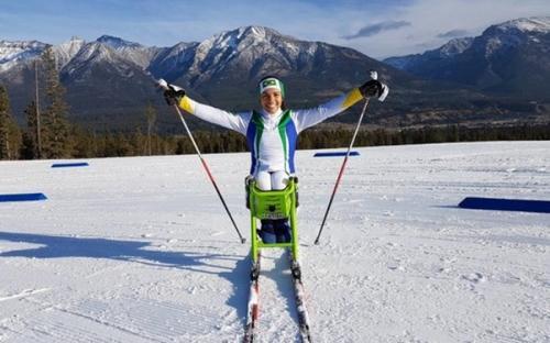 Primeira mulher brasileira a participar das Paralimpíadas de Inverno