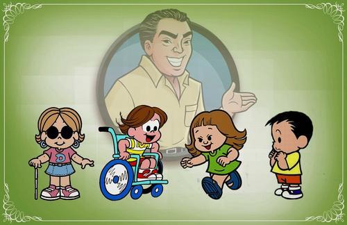Mauricio de Sousa fala sobre criação de personagens com deficiência