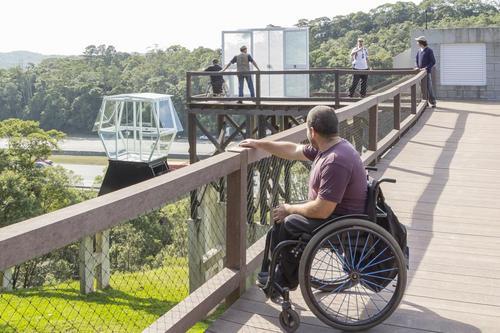 Parque Ecológico da Imigrantes tem acessibilidade para cadeirantes